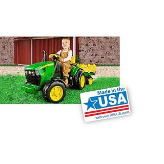 Peg Perego John Deere Ground Force 12 volt Tractor Ride On