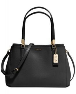 COACH MADISON SMALL PHOEBE SHOULDER BAG IN LEATHER   COACH   Handbags