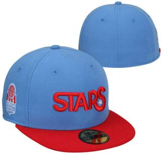 New Era Los Angeles Stars ABA Classic 59FIFTY Fitted Hat   Light Blue