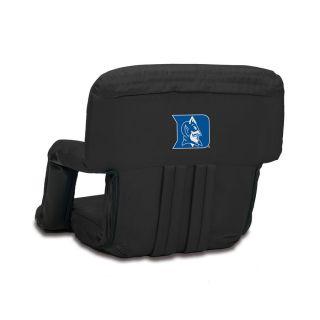 Picnic Time 1 Indoor/Outdoor Upholstered Duke Blue Devils Bleacher Folding Chair