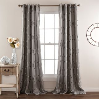 Half Moon Swirl Window Curtain Set   Curtains