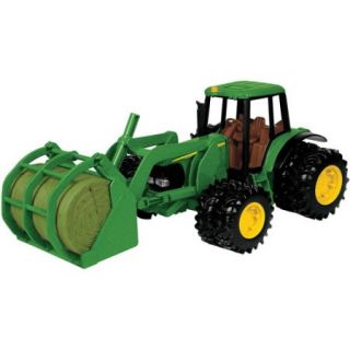 John Deere 1/16 Scale 7220 Tractor with Bale Mover