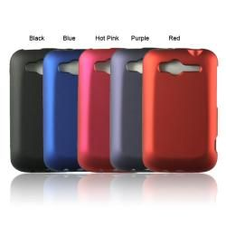 Luxmo Solid Rubber Coated Case for HTC Wildfire S   13708709