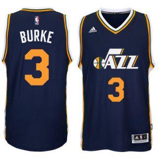 Trey Burke Utah Jazz adidas Player Swingman Road Jersey   Navy