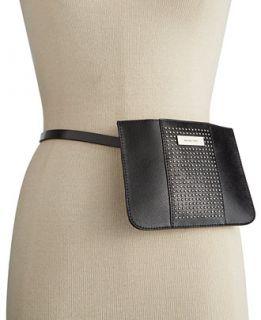 MICHAEL Michael Kors Saffiano Studded Fanny Pack   Handbags