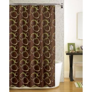 Mainstays Elipse Fabric Shower Curtain
