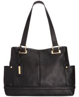 Tignanello Pretty Pockets Smooth Leather Shopper   Handbags