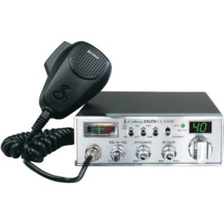 Cobra 25 LTD 40 Channel Classic CB Radio with Dynamike Gain Control