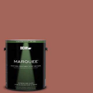 BEHR MARQUEE Home Decorators Collection 1 gal. #HDC CL 08 Sun Baked Earth Semi Gloss Enamel Exterior Paint 545301