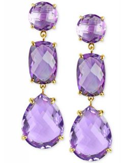 Amethyst Drop Earrings (27 5/8 ct. t.w.) in 14k Gold   Earrings