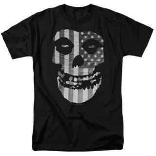 Misfits Fiend Flag Mens Short Sleeve Shirt