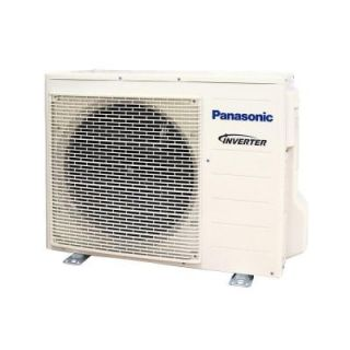 Panasonic 12,000 BTU 1 Ton Ductless Mini Split Air Conditioner with Heat Pump   230 or 208V/60Hz (Outdoor Unit Only) CU XE12PKUA