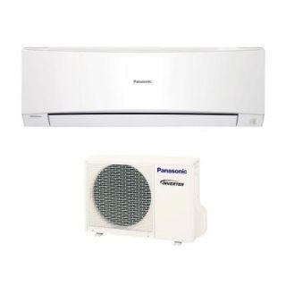 Panasonic 9,000 BTU 3/4 Ton Ductless Mini Split Air Conditioner with Heat   230 or 208V/60Hz E9NKUA