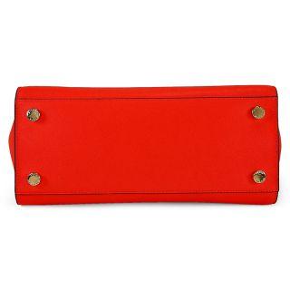 9915c5e6e30d Michael Kors Selma Saffiano Leather Medium Messenger Bag Mandarin