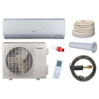 GREE High Efficiency 18,000 BTU 1.5 Ton Ductless Mini Split Air Conditioner and Heat Pump Kit   230V/60Hz RIO18HP230V1AKIT