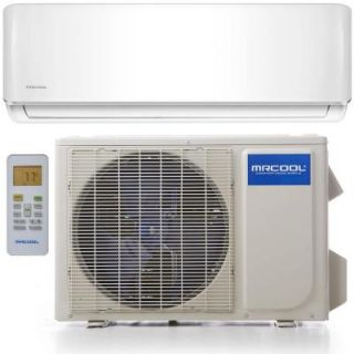 MRCOOL Oasis ES 12,000 BTU 1 Ton Ductless Mini Split Air Conditioner and Heat Pump   230V/60Hz O ES 12 HP 230