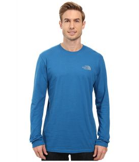 The North Face Long Sleeve Red Box Tee Asphalt Grey/TNF Red
